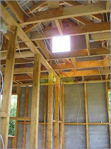 электрическая схема проводки в гараже