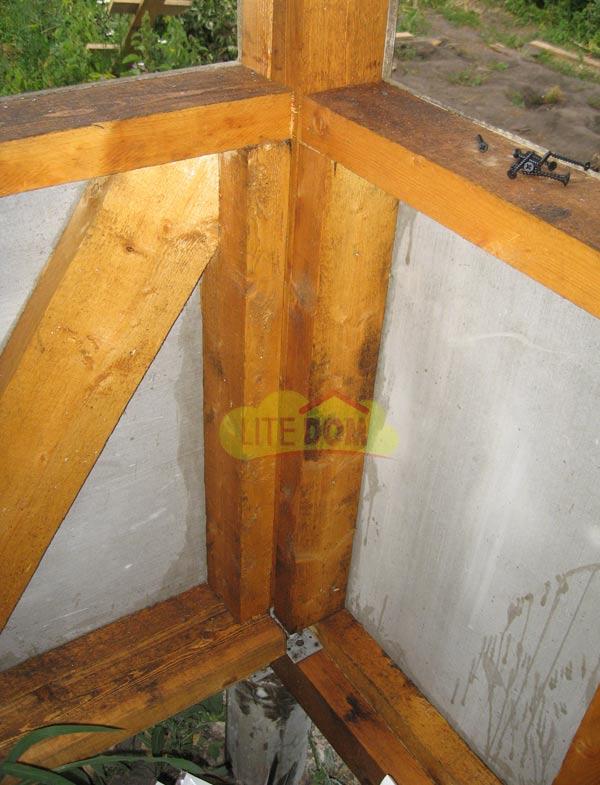 Ремонт из смета шифера крыши